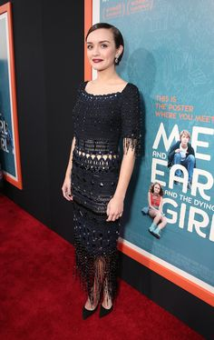 | LA Premiere | Olivia Cooke glams up the red carpet #MeAndEarl