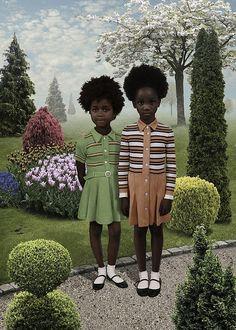 Original Art: Ruud Van Empel on the AphroChic blog.
