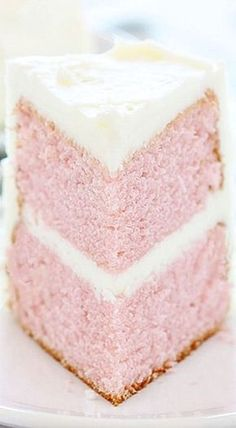 Pink Velvet Cake is seriously so delish! Try it next time you have a sweet craving and want to bake up something special!