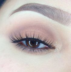 39 Easy Eyeshadow Looks - Fall Colors in Soft and Simple Eye Look - Natural And Simple Step By Step Tutorials on How to Apply to the Brows and Lashes - Makeup Tricks Make up for Eyebrows and Beauty looks Similar to Linda Hallberg -