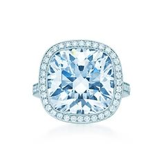 Just over 11 carats from Tiffany & Co.