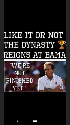 Alabama Crimson Tide, Reign, It Is Finished, Royalty