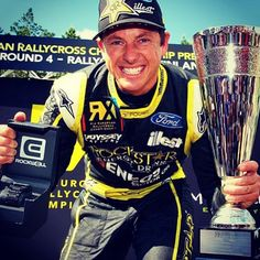 Congrats to Tanner Foust on his first place win at RallycrossRX Finland!