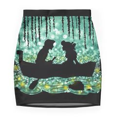 """""""Kiss The Girl"""" Pencil Skirts by LaurasLovelies 