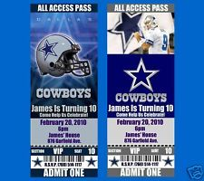 Dallas cowboy dallas cowboy birthday invitation dallas cowboy dallas cowboys baby shower cake dallas cowboys birthday invitations 20 tickets filmwisefo