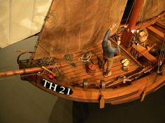 Han Reijnhout - TH21 - hengst Model Sailing Ships, Old Sailing Ships, Model Ships, Boat Stuff, Model Building, Sailboat, Scale Models, Dutch, Freedom