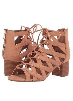 Stylish lace-up design strappy sandals, with trendy gold studded detail. Comfortable foam padded footbed in-soles. 2.25 inch heel. Trendy and fashionable sandals for your summer outfits. #sandals #sandalssummer #sandalsoutfit #sandals2020trends #sandalsheels #cutesandals #cutesandalsstrappy #cutesandalsoutfit #sandalshoes #sandalshoeswomen #sandalshoes sandalshoesheels #strappysandals #strappysandalsoutfit #strappysandalsheels #sandlesforwomenstrappysandals #brownstrappysandals Strappy Sandals Outfit, Studded Sandals, Cute Sandals, Women's Shoes Sandals, Shop This Look Outfits, Joggers Womens, Shoe Show, Gold Studs, Fashion Inspiration