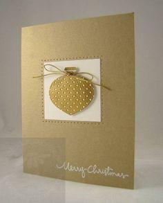 Delightful Decorations - Gold - CAS