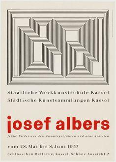 Max Bill, Josef Albers, Staatliche Werkkunstschule Kassel,...