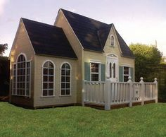Tiny Towns Playhomes is using Medite Tricoya for its upmarket children's playhouses - Image - Timber Trades Journal Online