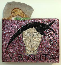 Vanità - Mosaico di Carlo Signorini su dis. di MimmoPpaladino, 1988