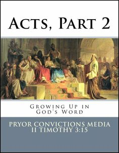 Bible curriculum for kids - 13 lessons covering Acts chapters 15-28.