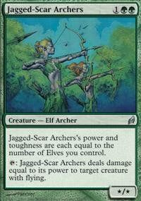 Magic: the Gathering - Jagged-Scar Archers - Lorwyn by Wizards of the Coast…