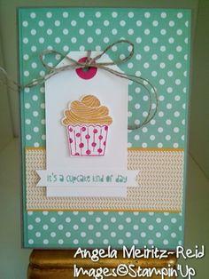 Cupcake Party Card