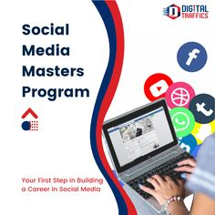 This course was drafted to make learners familiar with the fundamental concepts on various digital channels and how to target the right audience. You will learn about social media, Facebook marketing, Instagram Marketing and Affiliate marketing.  The Masters Course in Social Media will transform you into an industry-ready social media marketing professional. Our curriculum covers a combination of in-depth knowledge in social media, content marketing and web analytics course. Facebook Marketing, Content Marketing, Affiliate Marketing, Social Media Marketing, Digital Marketing, Masters Courses, Web Analytics, Masters Programs, Marketing Professional