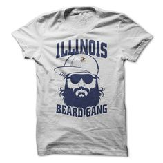 Illinois Beard GangIf you dont like this Tshirt, please use the Search Bar on the top right corner to find the best one for you. Simply type the keyword and hit Enter!beard