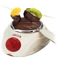 ¿Os apetece hacer unos bombones de manera rápida y sencilla? Con esta fondue puedes hacerlo, también puedes hacer una fondue de chocolate o también puedes aprovecharla para hacer una de queso... mmm que rico! Estará para chuparse los dedos https://www.qualimail.es/articulos/chocolatera-blanca