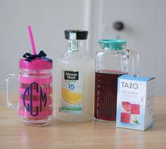 How to make homemade Starbucks Passion Tea Lemonade