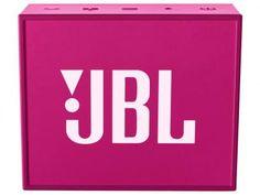 Caixa de Som Portátil JBL GO 3W - com Bluetooth 4.1 com as melhores condições você encontra no Magazine 233435antonio. Confira!