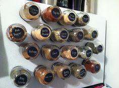 baby food spice jars!
