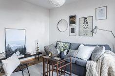Căn hộ phong cách Scandinavi nổi bật với 2 màu đen-trắng