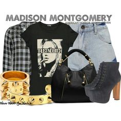 Madison Montgomery inspired outfit