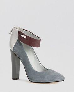 Calvin Klein Pumps - Ariel Ankle Strap High Heel on shopstyle.com