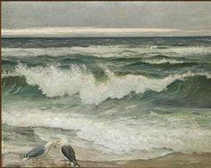 Άννα Αγγελοπούλου: Στην ακρογιαλιά. Ποιήματα του Γιώργου Σαραντάρη για τη θάλασσα και πίνακες ζωγραφικής του Δανού Michael Peter Ancher