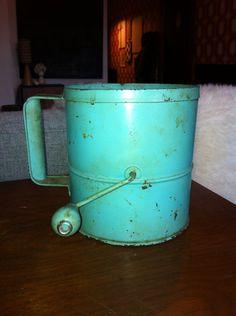 Vintage Antique Flour Sifter on Etsy, $20.00