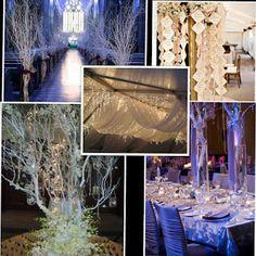 winter wedding lights wedding inspiration