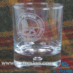 Bruce Clan Crest Whisky Glass