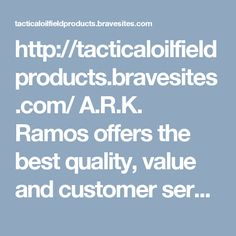 http://tacticaloilfieldproducts.bravesites.com/ A.R.K. Ramos offers the best quality, value and customer service for ada signage, wall plaques, plaques, custom wall plaques, engraved plaques, metal letters, large metal letters, etc. in Oklahoma City. Call us at our toll free +1 800 725 7266 now.