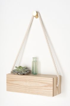 Ash Rope Box - Rectangular