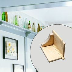 DIY Plate Rail: Make a Craftsman shelf using stock parts from the lumberyard | Photo: Lisa Shin | thisoldhouse.com