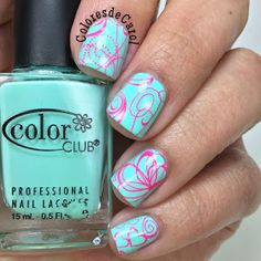 Colores de Carol: Pueen 2014 Nail Art Stamp Collection Set 24B-L STAMPING BUFFET - LEISURE