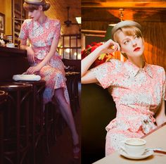 Laura 沖田 Okita - Vintage Dress - Waiting for My Love