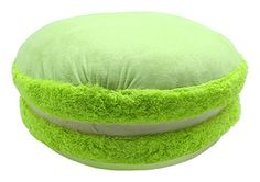 CANDYLICIOUS MACARON PLUSH GREEN. Shop online at Candylicious! International shipping available. Cute | France | Children Room Decor | Squishy | Candy