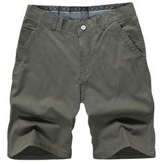 Longitud de la cremallera ocasional de la rodilla 5 hombres de color de verano de algodón mezclado cortocircuitos de la playa