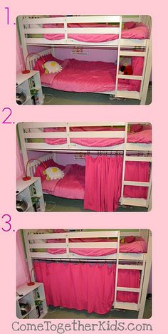 no-sew tutorial for instant bed fort