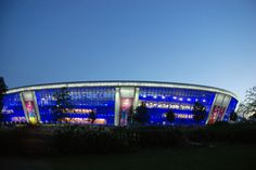 The Donbass Arena, Donetsk in Ukraine. Euro 2012 venue and home to Shaktar Donetsk.