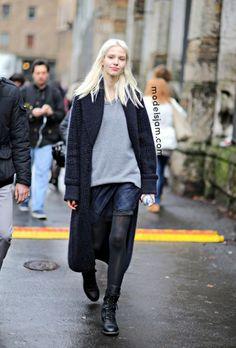 Model-Off-Duty Style: 3 Ways To Wear A Maxi Cardigan | WhoWhatWear