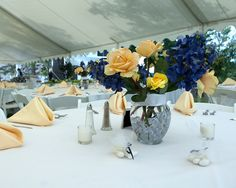 Wedding reception guest table at The Alpine Homestead in the Adirondacks in upstate NY
