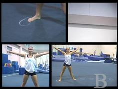 UCLA gymnast Aisha Gerber and coach Chris Waller go through the basics of how to pull off a cartwheel.