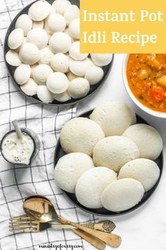 Here's an EASY Idli Recipe! Idli are soft, melt-in-the-mouth steamed cakes made from a nutrient-rich fermented batter of rice and lentils. #ministryofcurry #glutenfree Veggie Recipes Healthy, Vegetarian Recipes Videos, Healthy Indian Recipes, Curry Recipes, Easy Chicken Recipes, Instant Recipes, Instant Pot Dinner Recipes, Delicious Dinner Recipes, Idli Recipe