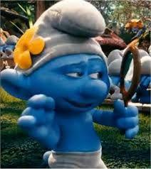Image result for smurf with nine