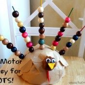 Fine Motor Turkey For TOTS  - repinned by @PediaStaff – Please Visit  ht.ly/63sNt for all our pediatric therapy pins