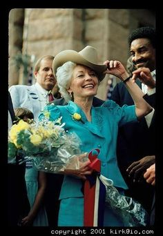 Ann Richards, one of the coolest chicks ever!!!