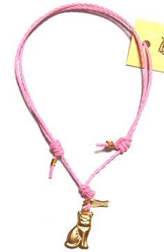 danielasigurdjewelry ( ダニエラ シグルド ジュエリー ) ロンドン ファッション お魚 追いかけ 猫 さん ブレスレット cat and fish friendship bracelet コットン コード ゴールド キャット フィッシュ フレンドシップ コットンコード アクセサリー 海外 ブランド daniela sigurd jewelry http://www.amazon.co.jp/dp/B00WVV1EU6/ref=cm_sw_r_pi_dp_Yf-Avb0T4YP0J