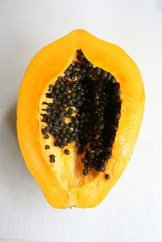 papaya = antioxidants and less inflammation = happy bones