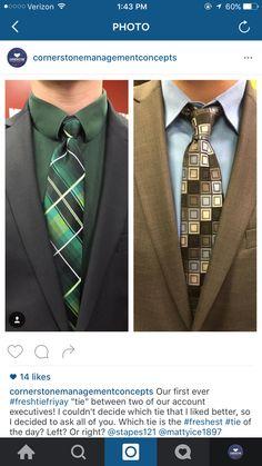 Fresh tie FRIYAY